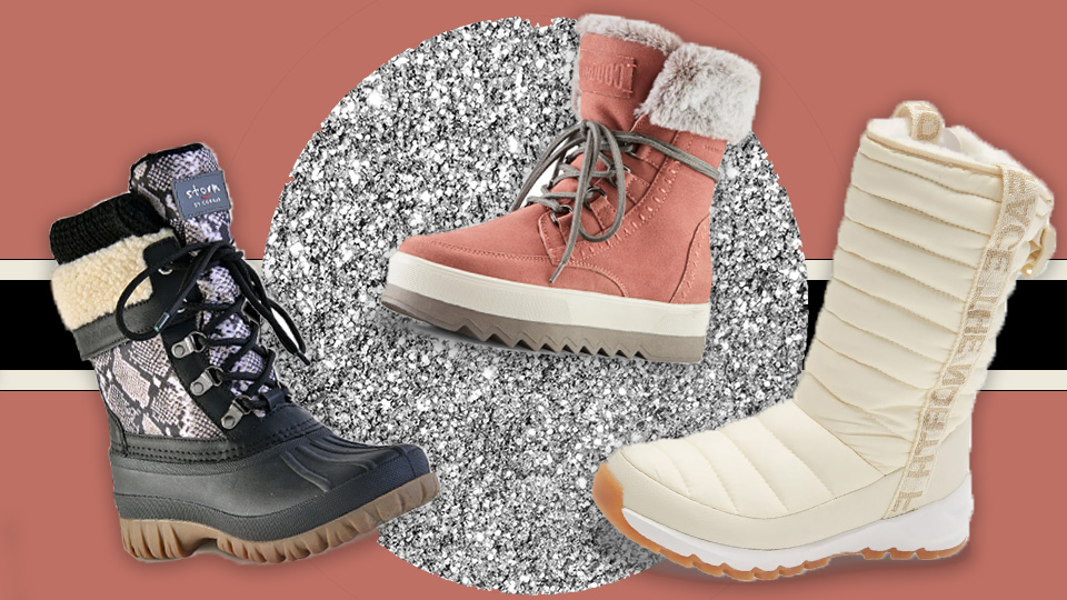 These Actually-Chic Winter Boots Won't Totally Screw Up Your Outfit
