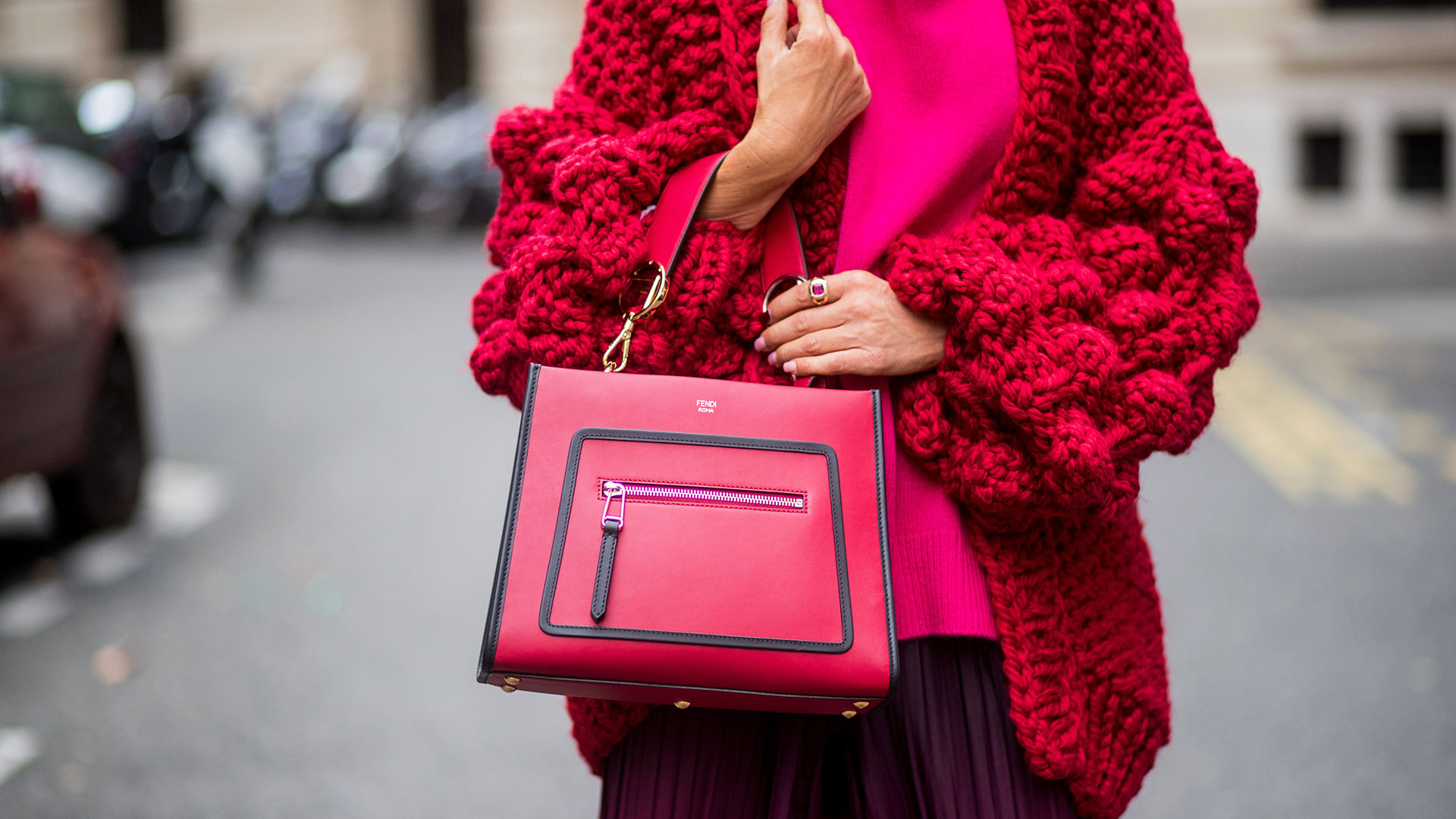 STYLECASTER   Winter Outfit Ideas   Bright Sweaters