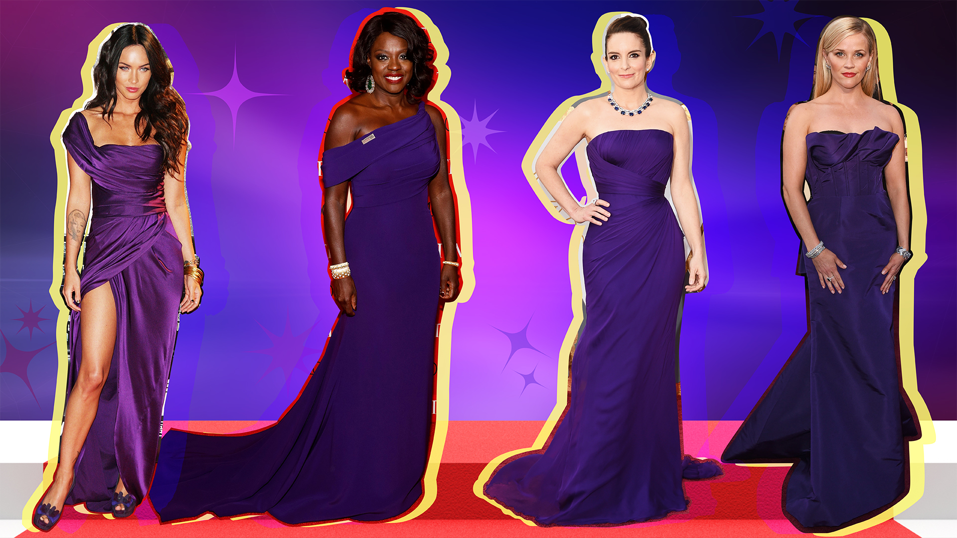 31 Times Celebrities Wore Ultra Violet on the Red Carpet