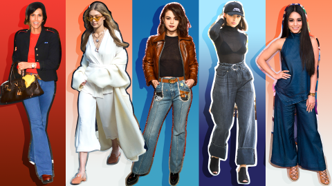 Watch These Celebrities Prove That Wide Jeans are Back | StyleCaster