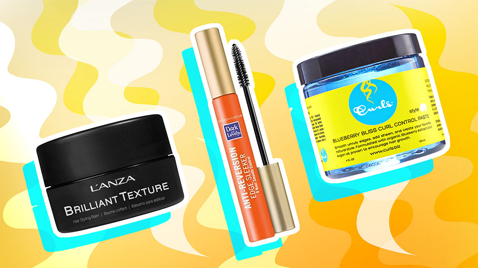 The Best Edge Control Products for Textured Hair