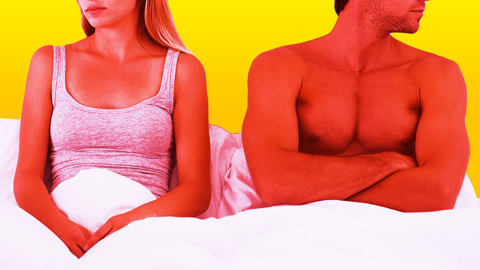 Man & Woman in Bed