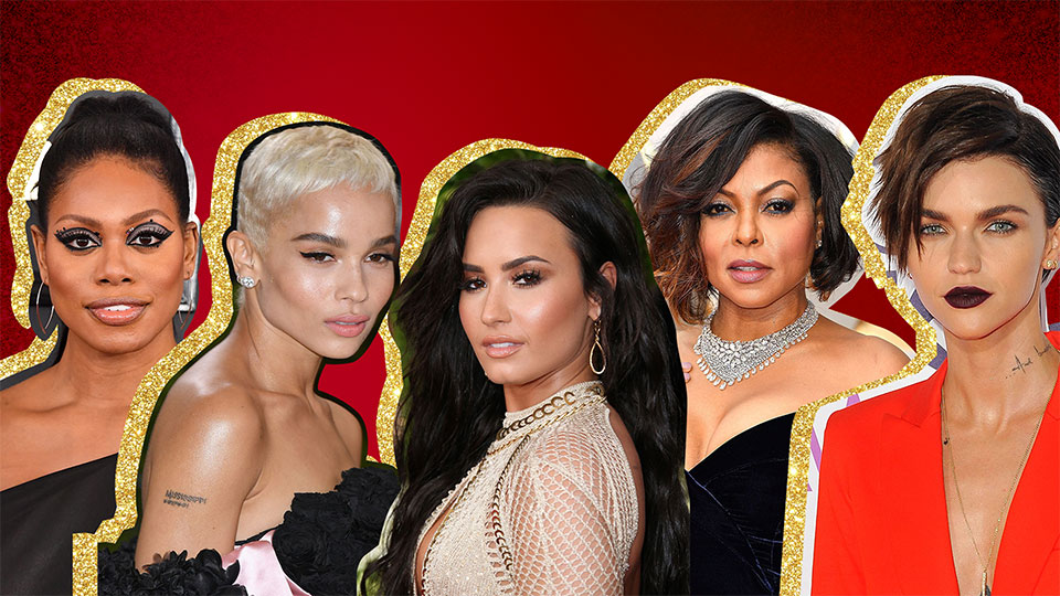 The Best Red Carpet Beauty Moments of 2017