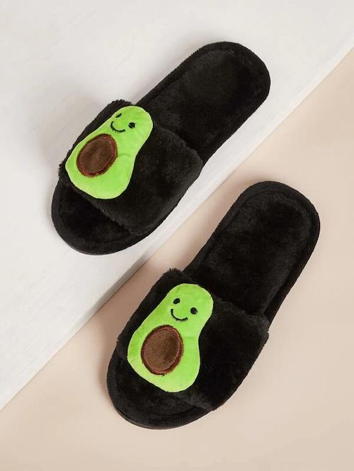 STYLECASTER | Best Slippers | avocado slippers