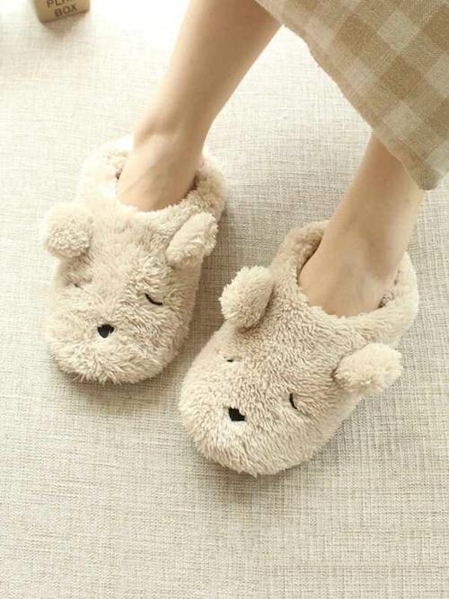 STYLECASTER | Best Slippers | bear slippers
