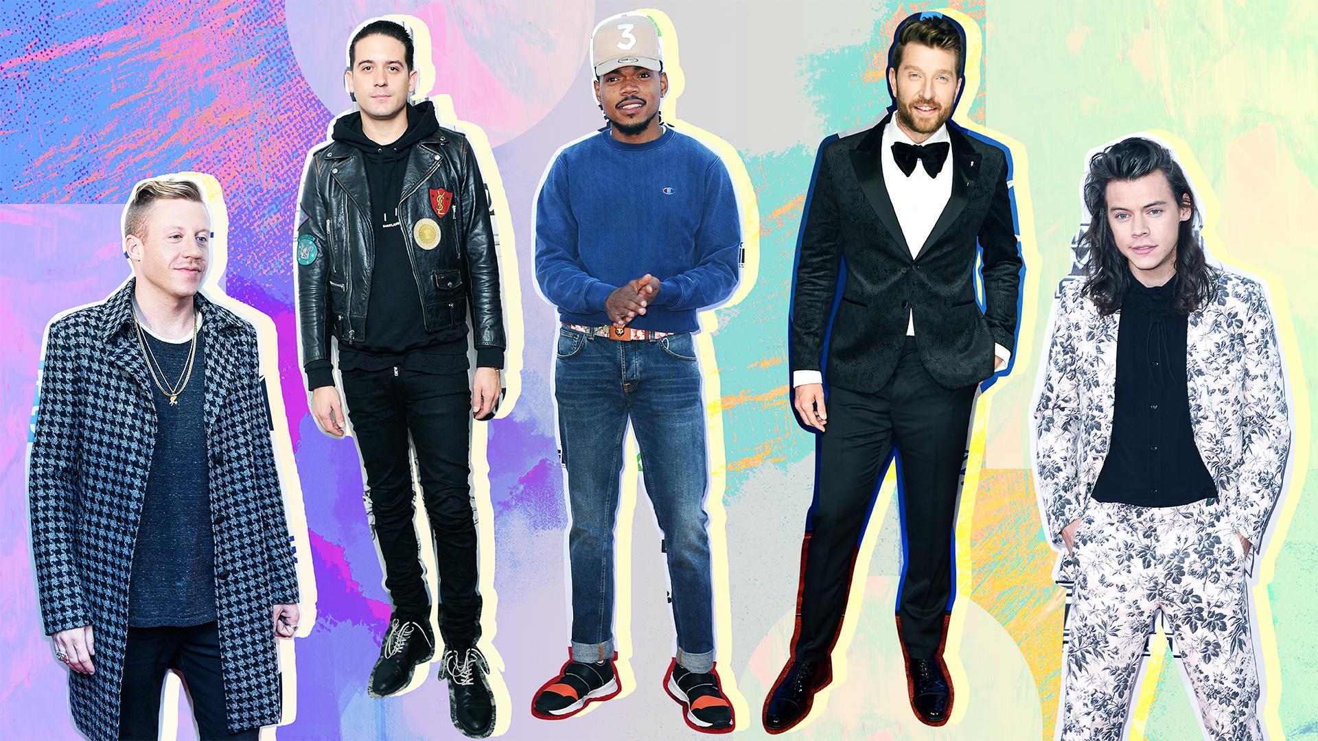 Stylish Male Musicians