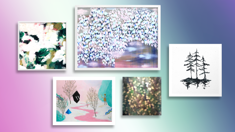 Gorgeous Wintry Art to Put You in a Seasonal Mood | StyleCaster