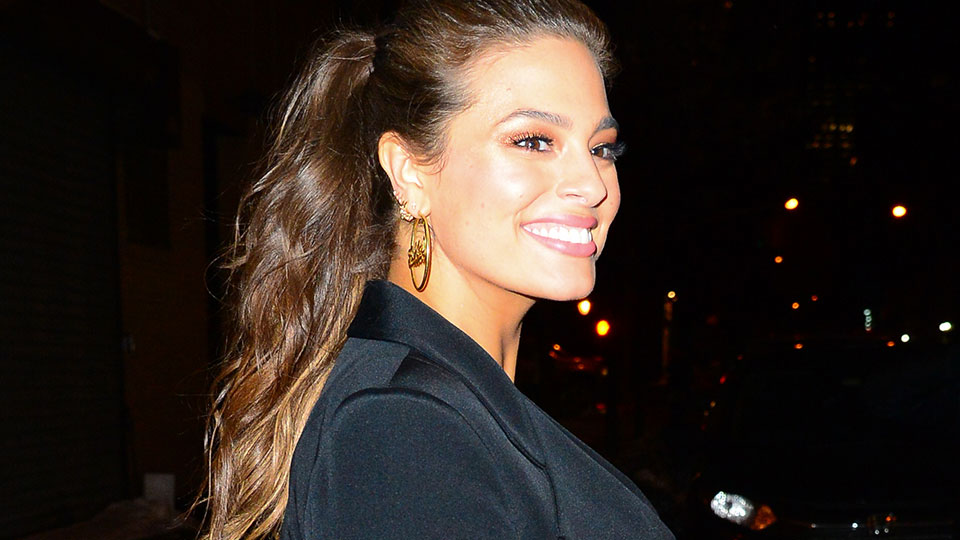 Ashley Graham's Hairstylist Shares Genius Hack for a Fuller-Looking Ponytail
