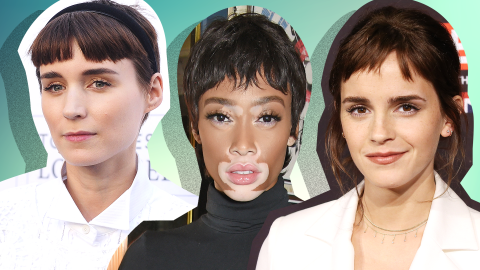 How to Pull Off Baby Bangs Like a Celebrity | StyleCaster