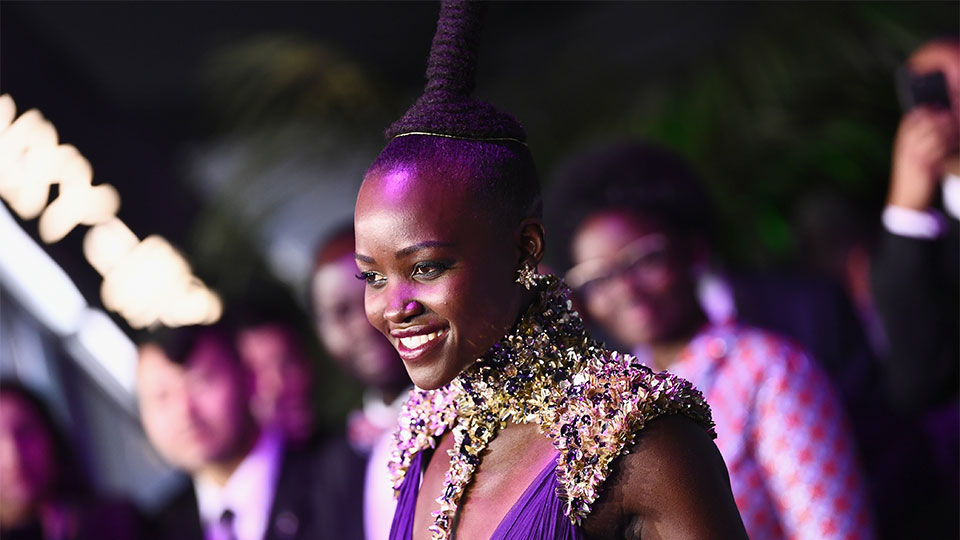 The 'Black Panther' World Premiere Delivered a Sea of Black Beauty Inspo