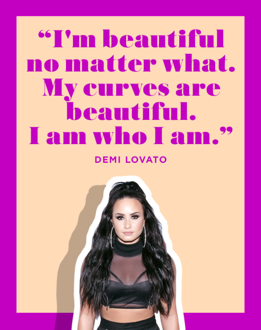 Demi Lovato Positive Affirmation Quote