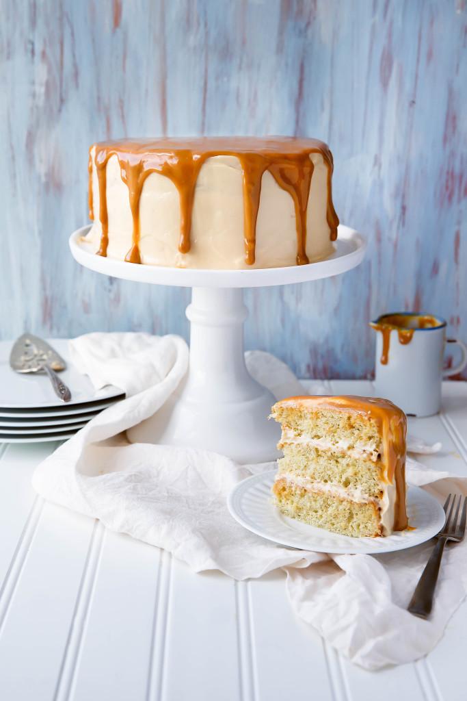 STYLECASTER | comfort food recipes | dulce de leche cake