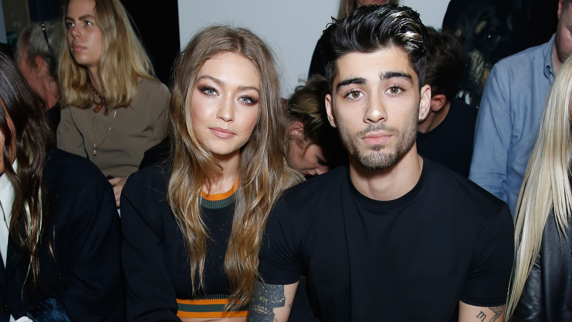 Zayn Malik Might've Tattooed Gigi Hadid's Eyes on His Chest, and We're Shook