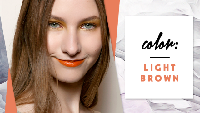 STYLECASTER | Simple Hair Color Chart for Every Shade | Light Brown