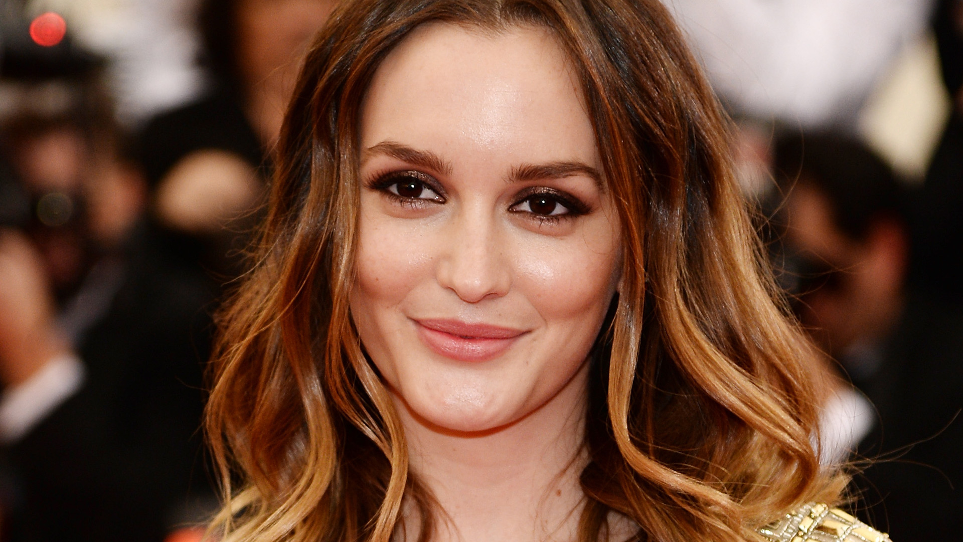 Leighton Meester Shared a Gorgeous Makeup-Free Selfie on Instagram