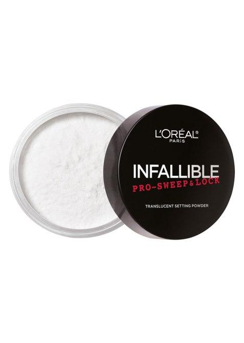 STYLECASTER | How to Apply Powder Makeup | L'Oréal Paris Infallible Pro-Sweep & Lock Translucent Powder