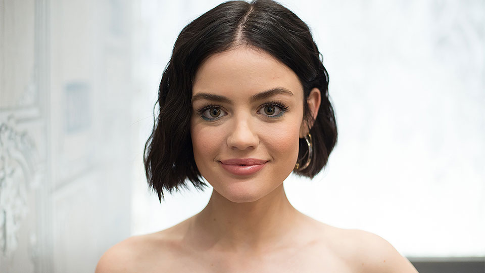 Lucy Hale's Makeup Artist Remixed the Classic Smoky Eye With This Color
