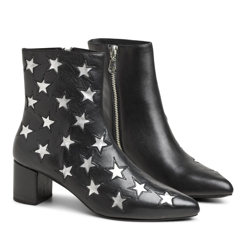 Sheridan Mia Leather Flowered Boot from Washington by La
