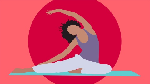How to Navigate Yoga While You Have Your Period   StyleCaster