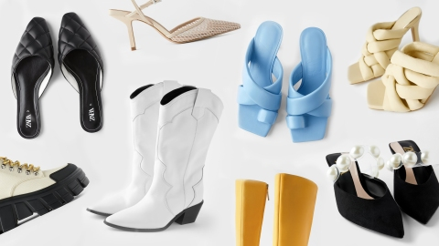19 On-Trend Shoes to Shop at Zara Immediately | StyleCaster