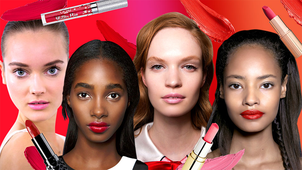 15 New Red and Pink Lipsticks to Try This Valentine's Day