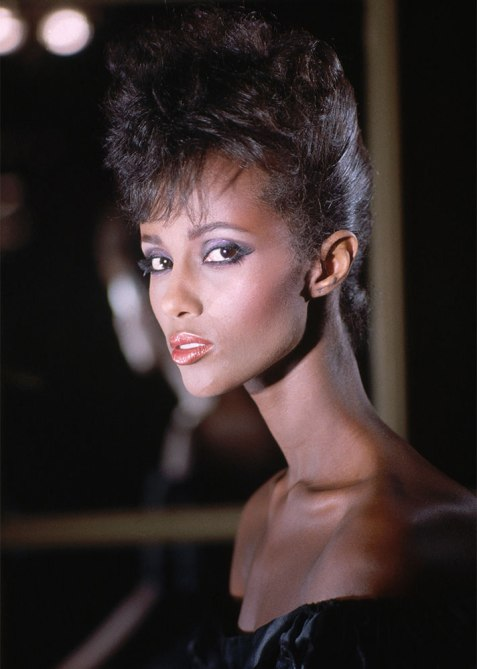 black beauty moments iman 1 The Most Iconic Black Beauty Looks of All Time