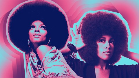 22 Bold and Beautiful Celeb Afros to Fawn Over   StyleCaster