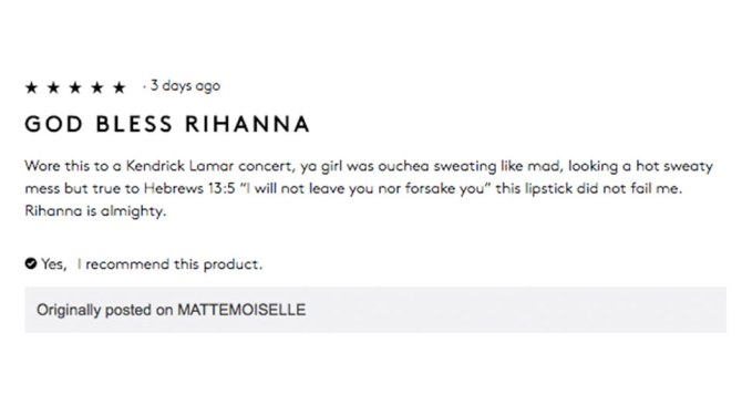 fenty beauty review 6 Fenty Beauty Reviews That Will Make You Laugh and Cry at the Same Time