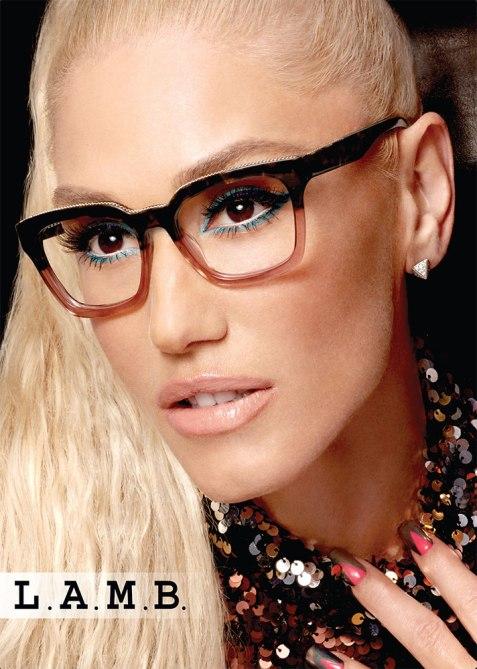 STYLECASTER   Gwen Stefani x L.A.M.B. Eyewear