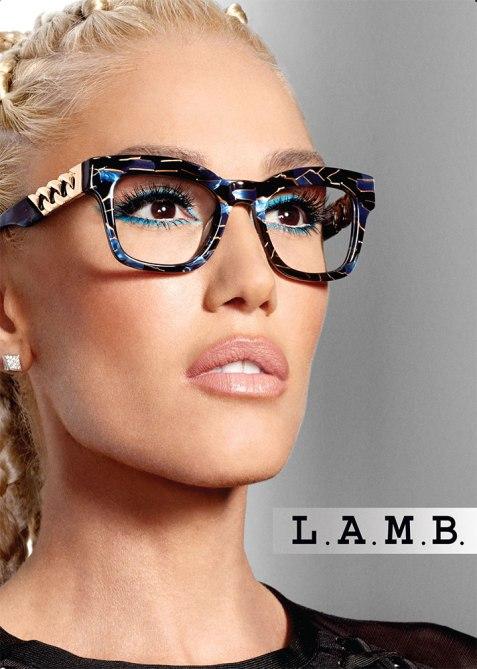 gwen stefani lamb 2 How Gwen Stefani Is Making Glasses a Must Have Accessory
