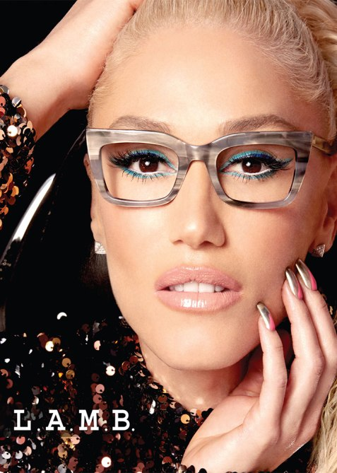 gwen stefani lamb 3 How Gwen Stefani Is Making Glasses a Must Have Accessory