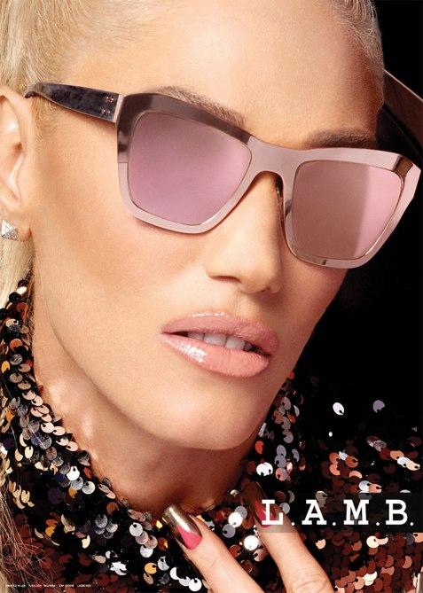 gwen stefani lamb 4 How Gwen Stefani Is Making Glasses a Must Have Accessory