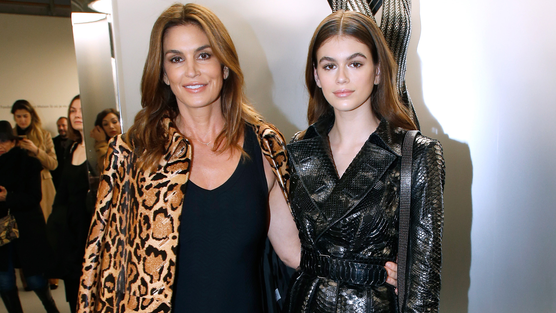 Kaia Gerber Savagely Trolled Cindy Crawford's Sexy Instagram with Male Models
