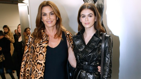 Kaia Gerber Epically Trolled Her Mom's Sexy Instagram | StyleCaster