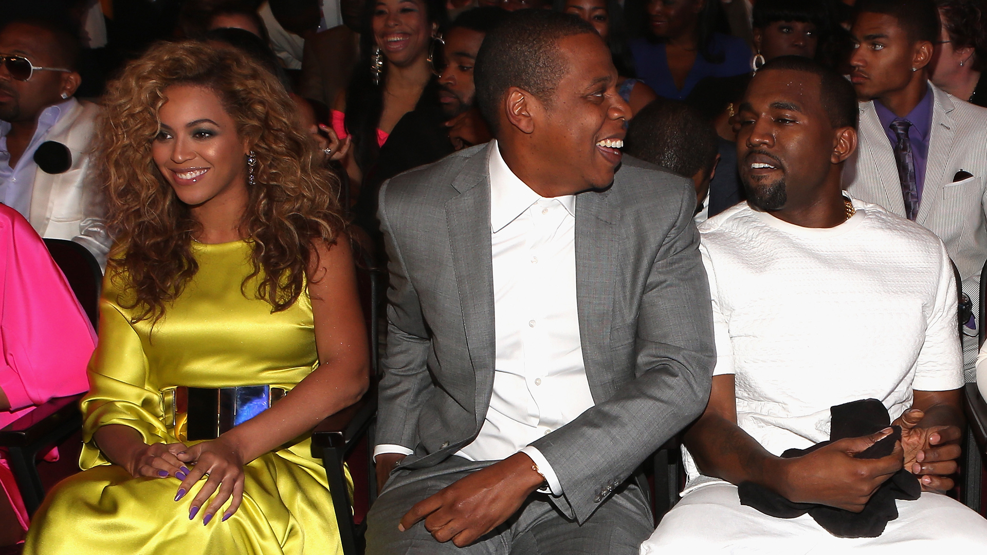 Jay-Z, Beyonce, and Kanye West