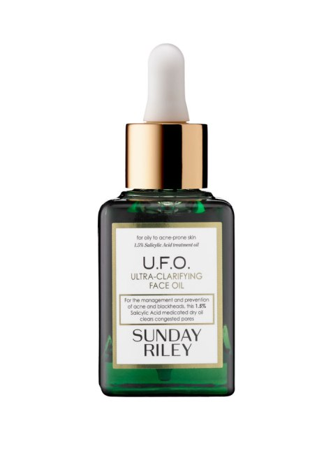 STYLECASTER | Best Oil for Your Skin Type | Sunday Riley UFO Face Oil