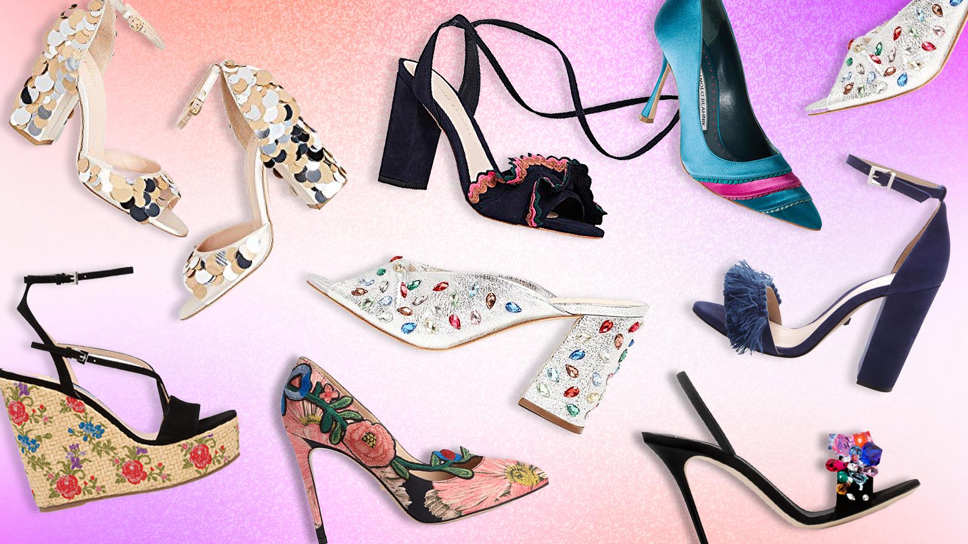 STYLECASTER | Wedding Shoe Shopping Guide