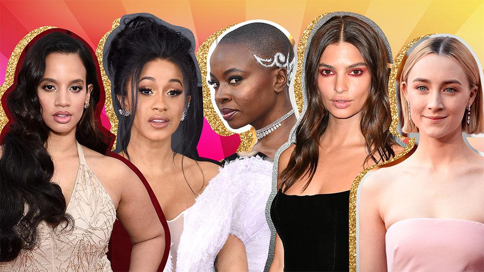 The Best 2018 Awards Season Beauty Looks