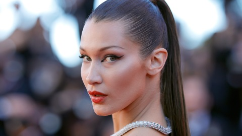 We're in Love with Bella Hadid's Wispy New Curtain Bangs | StyleCaster