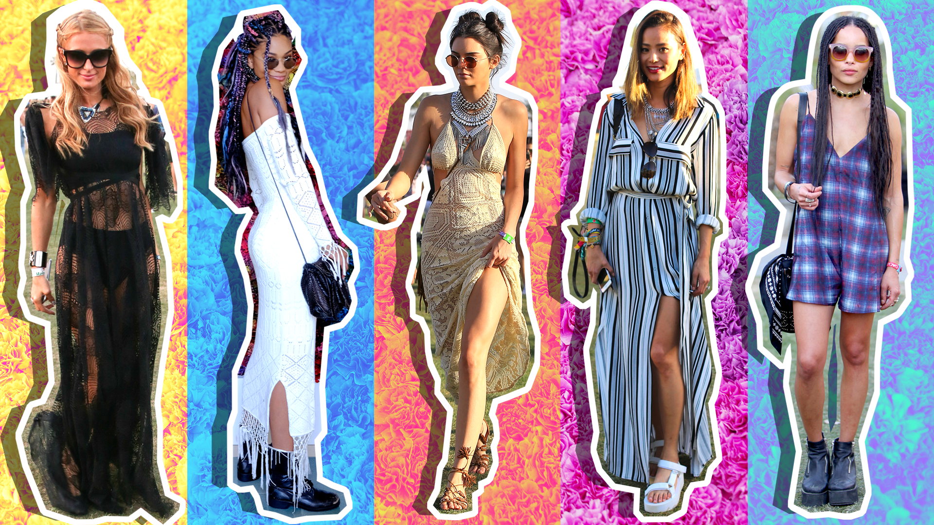 50 Stylish Celebrity Coachella Outfits to Inspire Your Festival Fashion