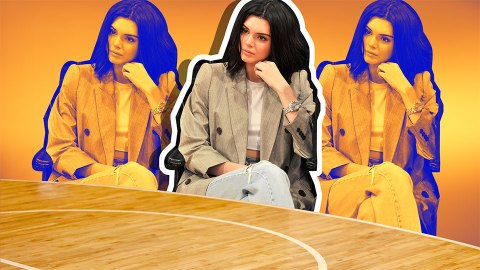 22 Examples of Effortless Celebrity Courtside Beauty   StyleCaster