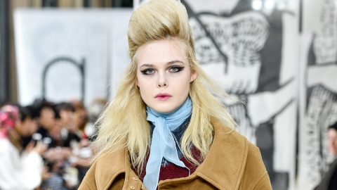 You Need to See the Photos from Elle Fanning's Modeling Debut | StyleCaster