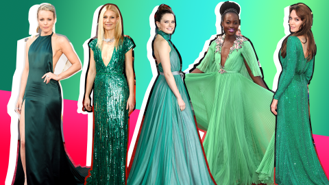 The Prettiest Green Dresses Celebrities Have Ever Worn | StyleCaster