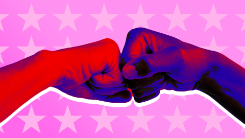 How to Deal When Your Coworkers Won't Stop Talking Politics   StyleCaster