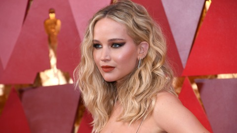 Jennifer Lawrence Just Rocked the Deepest V-Neck of All Time, and We Stan | StyleCaster