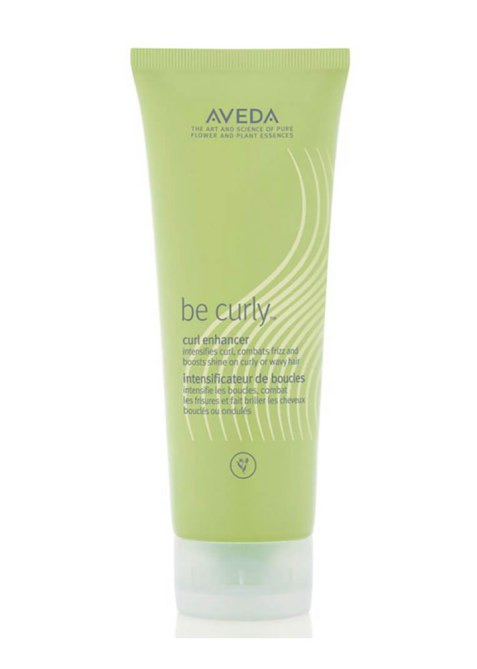STYLECASTER | Justine Marjan's Favorite Hair Products | Aveda Be Curly Serum