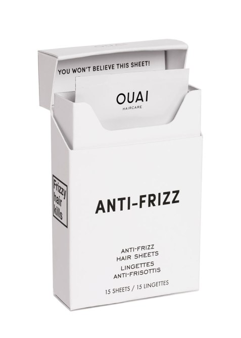 STYLECASTER | Justine Marjan's Favorite Hair Products | Ouai Anti-Frizz Sheets