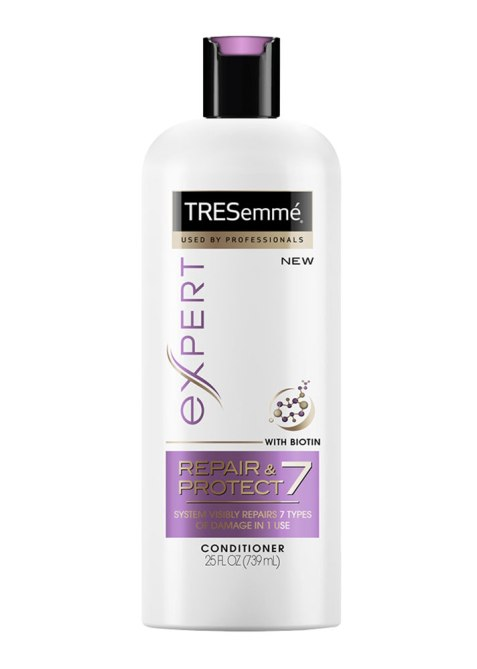 STYLECASTER | Justine Marjan's Favorite Hair Products | TRESemme Leave-In Conditioner