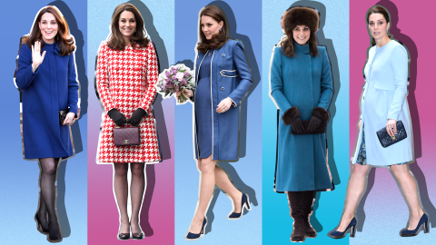 Every Time Kate Middleton's Maternity Style Reigned Supreme   StyleCaster