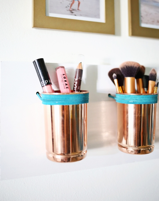 makeup storage a beautiful mess 20 Truly Innovative (and Instagrammable) Ways to Store Your Beauty Products